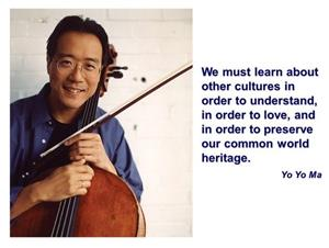 The great Chinese cellist says...