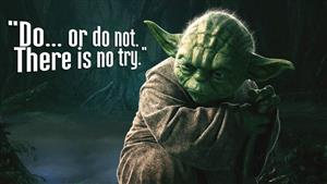 The great Jedi Master says...