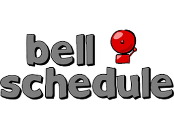 Click Here for the Bell Schedule